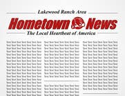 Contest Entry #4 for Icon and Magazine Name design for new company, Hometown News