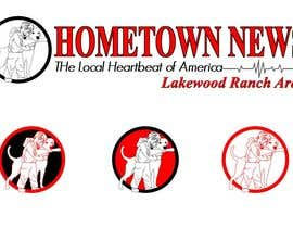 #50 para Icon and Magazine Name design for new company, Hometown News por raycboston