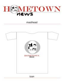 #51 for Icon and Magazine Name design for new company, Hometown News by shubhangdabral