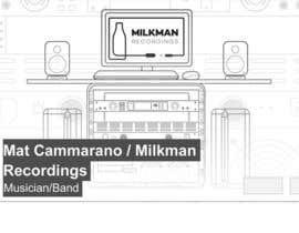 #16 untuk Design a Banner for Milkman Recordings Facebook Page oleh baifumei