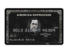 #42 untuk Design American Express Black Card similar copy oleh roops84