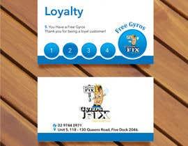 #6 untuk Design a loyalty card oleh bluedesign1234