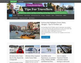 RomanTupolev tarafından Design a Banner for Tips For Travellers website için no 117