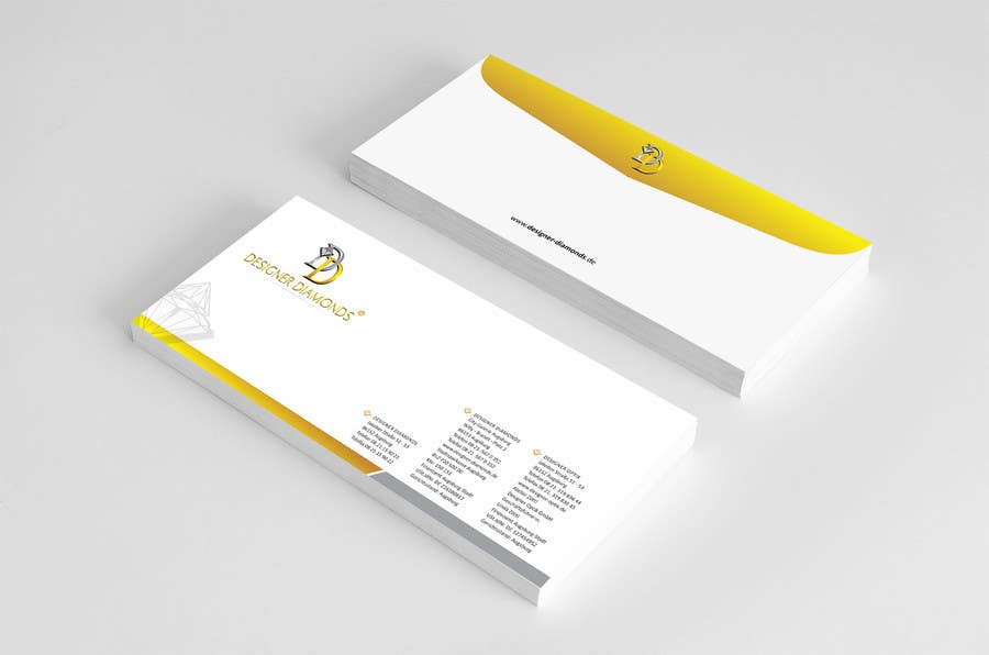#11 for Design some Stationery for a Jewelery Company (Letterhead/Envelope/Business Card) by ezesol