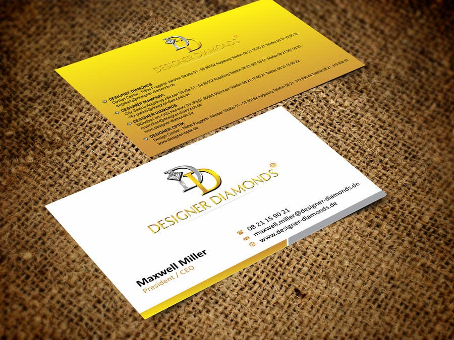 #18 for Design some Stationery for a Jewelery Company (Letterhead/Envelope/Business Card) by ezesol