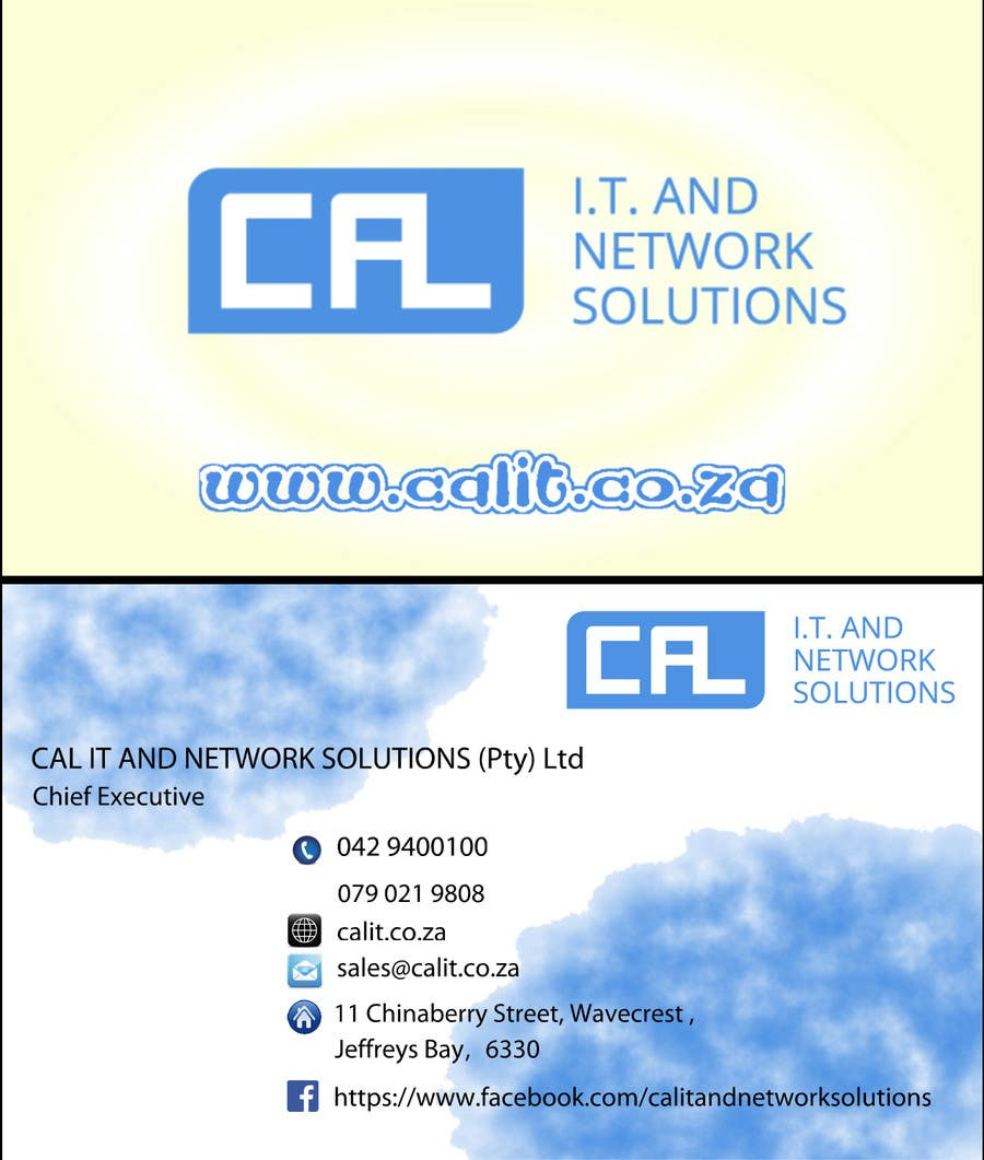 Penyertaan Peraduan #7 untuk Business card design – logo and info supplied