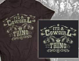 milanlazic tarafından Design a T-Shirt for Cowgirl Grunge design için no 16