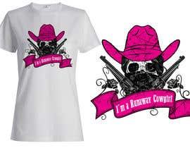 griffindesing tarafından Design a T-Shirt for Cowgirl Grunge design için no 37