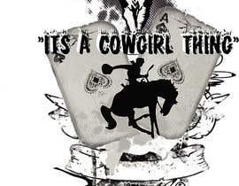 tengry888 tarafından Design a T-Shirt for Cowgirl Grunge design için no 7