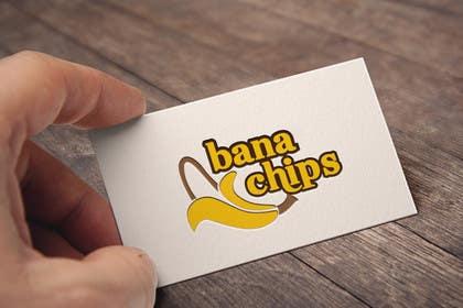 #12 untuk Logo for Banana Chips brand oleh silverhand00099