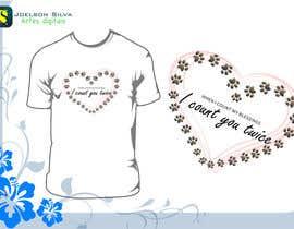 #7 untuk Design a T-Shirt for Dogs Rule oleh joelsonsax