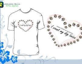#12 untuk Design a T-Shirt for Dogs Rule oleh joelsonsax