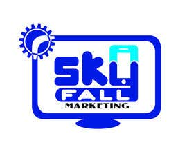 #30 untuk Logo for my new company SKYFALL MARKETING oleh pikoylee