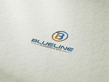 #124 untuk Design a Logo for Blueline Plumbing & Gas oleh kalilinux71