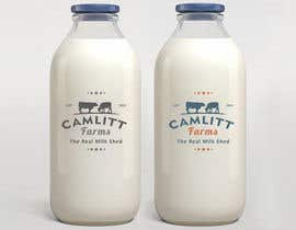 #35 for Design a Logo for Camlitt Farms - The Real Milk Shed by akritiindia