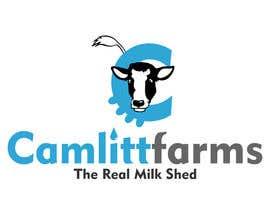 joelsonsax tarafından Design a Logo for Camlitt Farms - The Real Milk Shed için no 27