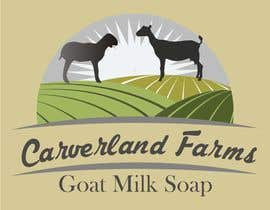 #17 untuk Design a Logo for Carverland Farms Goat Milk Soap oleh amjadawan1