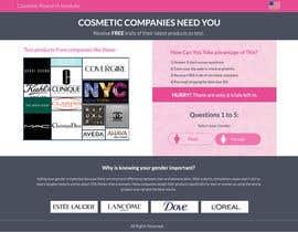 #50 untuk Design a Website Mockup for Cosmetic Research Institute oleh omwebdeveloper