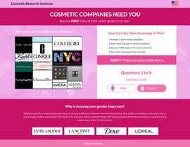 #51 untuk Design a Website Mockup for Cosmetic Research Institute oleh omwebdeveloper