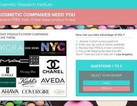 #41 untuk Design a Website Mockup for Cosmetic Research Institute oleh LyonsGroup