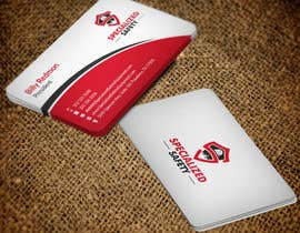 #96 untuk Design A Business Card for Specialized Safety oleh mdreyad