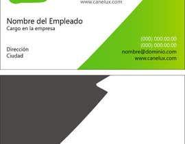 #22 untuk Diseñar algunas tarjetas de presentación for Canelux oleh eleazargarcia14