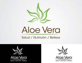 """andresjesus2004 tarafından Diseñar un logotipo """"  ALOE VERA SALUD NUTRICION BELLEZA  """" için no 23"""
