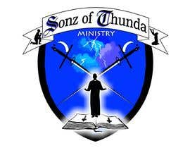 #13 para Design a Logo for Sonz of Thunda por ELNADEJAGER