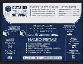 #26 for FLYER DESIGN: Shipping Store Services with Coupons by ashanurzaman