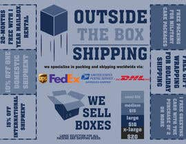 #14 untuk FLYER DESIGN: Shipping Store Services with Coupons oleh NoTimeForLife