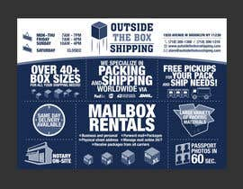#32 for FLYER DESIGN: Shipping Store Services with Coupons by cwgu