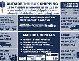 #6 untuk FLYER DESIGN: Shipping Store Services with Coupons oleh waqas17
