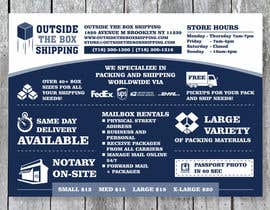#17 for FLYER DESIGN: Shipping Store Services with Coupons by barinix