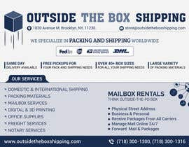 #37 for FLYER DESIGN: Shipping Store Services with Coupons by mufzilkp