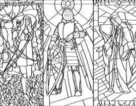 camilozm tarafından Fantasy illustration: stained glass windows için no 3