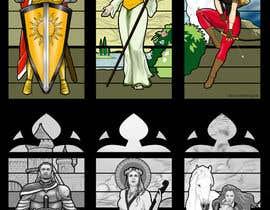 elinavarro tarafından Fantasy illustration: stained glass windows için no 9