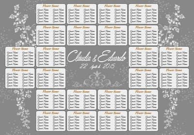 #7 untuk Wedding table board oleh lavdas215