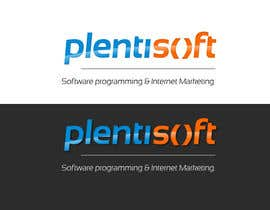 sebastianpothe tarafından Logo Design for Plentisoft - $490 to be WON! için no 500