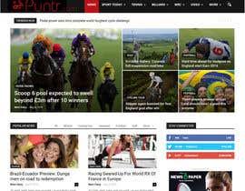 #31 untuk Design a Website Mockup and Logo oleh dzezin