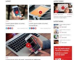 #10 untuk Design a Website Mockup and Logo oleh syrwebdevelopmen