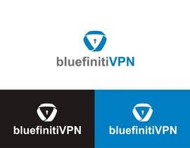 #134 for Design a Logo for BluefinitiVPN by diptisarkar44