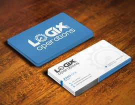 #78 for Design a sleek business card for Logix Operations by mohanedmagdii