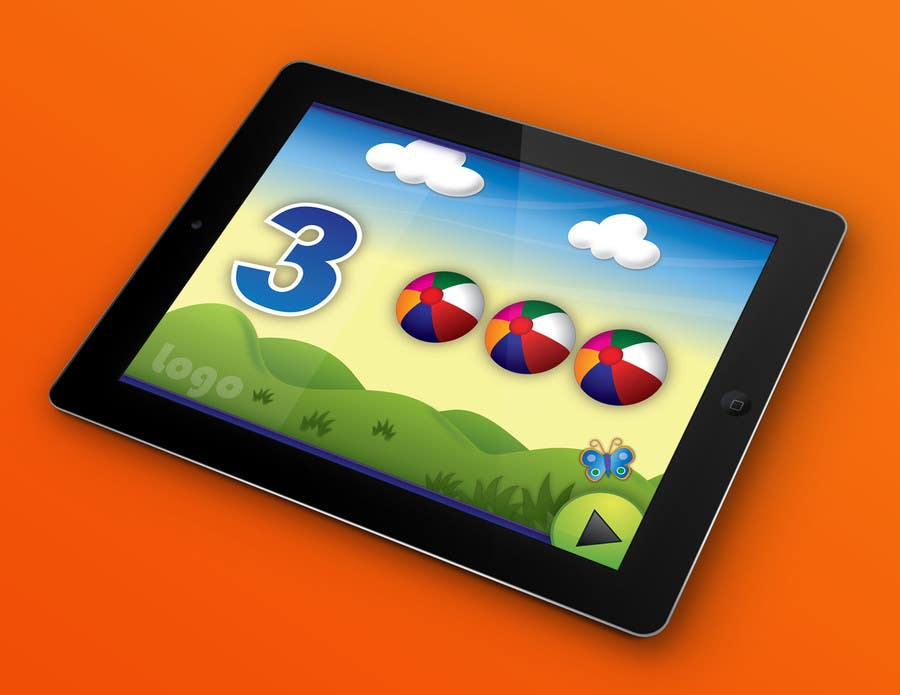 #11 for Design of a User Interface for a Kids Educational Game by PereViki