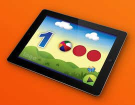 #23 para Design of a User Interface for a Kids Educational Game por PereViki