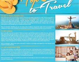 "designciumas tarafından ""5 Reasons to Travel"" banner needed için no 10"
