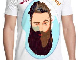 gdesigener tarafından Design World Beard Day Themed T-Shirt için no 17