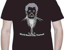 elliondesignidea tarafından Design World Beard Day Themed T-Shirt için no 20