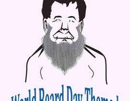 elliondesignidea tarafından Design World Beard Day Themed T-Shirt için no 33