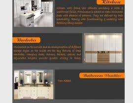 Shrey0017 tarafından Design a Flyer for Kitchen for Unique Cucine için no 5