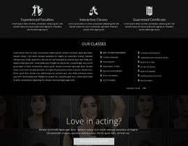 greenarrowinfo tarafından Design a Website Mockup for an online institute için no 6